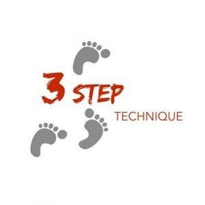 3 step technique
