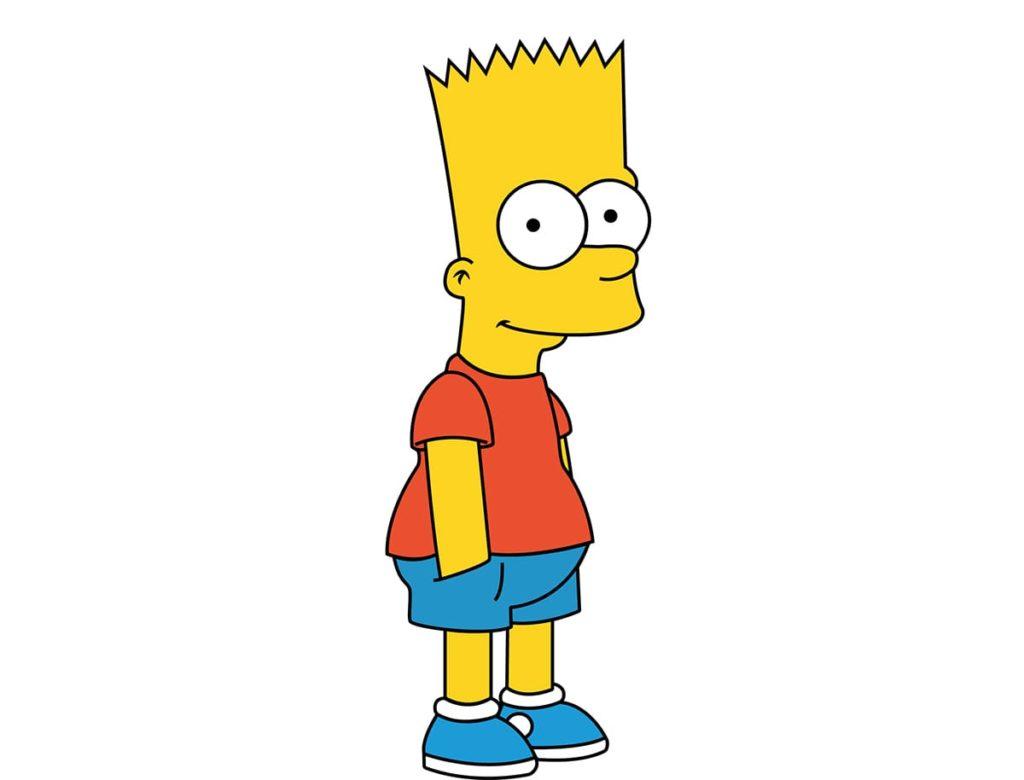Bart Simpson ha una occlusione di 2° classe