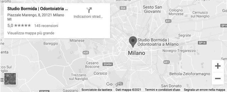 Studio Bormida Dentista Milano indicazioni stradali