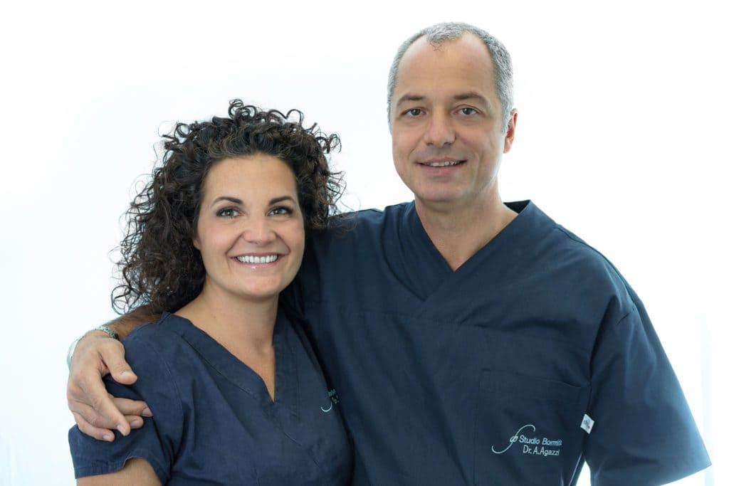 Dott.ssa Bormida e Dott. Alessandro Agazzi