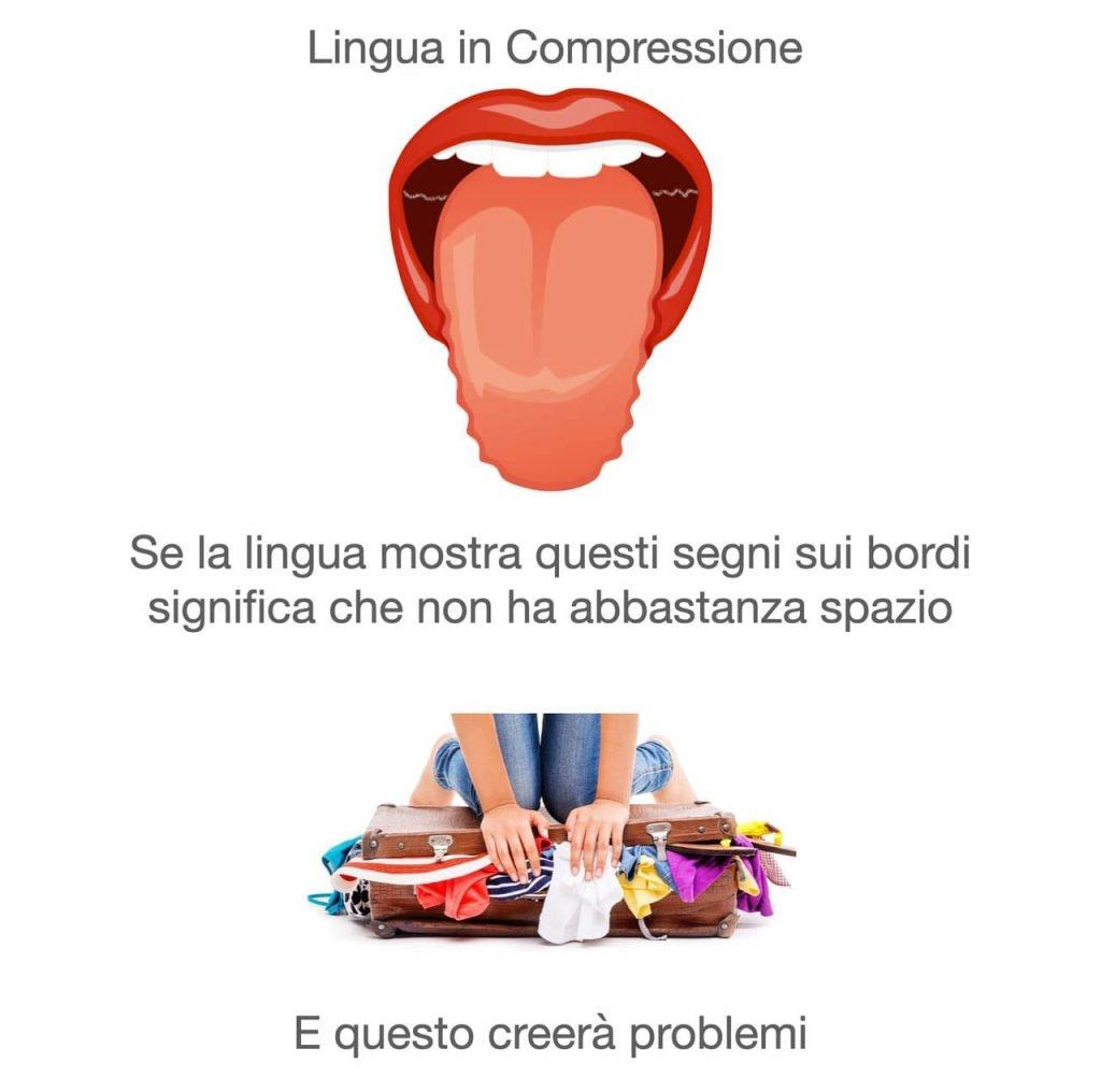 Lingua in compressione